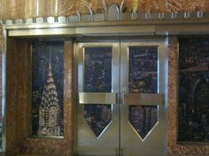 The verizon barclay vessey building ralph walker of for Chrysler building ceiling mural