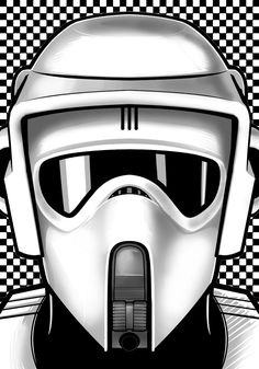 Star Wars - Scout Trooper by Terry Huddleston