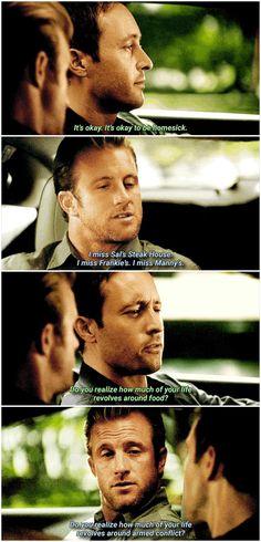 Steve and Danny on Hawaii Five-0