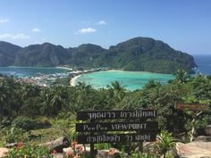 BBM KOREA | Ko Phi Phi Thailand | Lookout from the top of Phi Phi Viewpoint