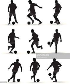 Arte vectorial : Jugadores de fútbol