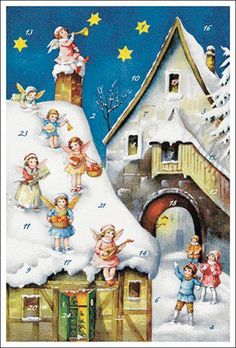 Advent calendar made in Germany  #Christmas #German #Advent #calendar