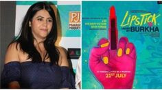 #EktaKapoor Clears Air About #LipstickUnderMyBurkha's Latest Poster