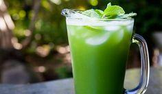 Detoxikační okurkovo-mátový smoothie