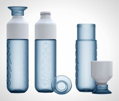 High Tech H20: 16 Inventive Water Bottles via Brit + Co.