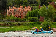 Day trip from Marrakech - Rafting in the Ourika Valley. Feel the excitment! :)