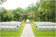 Dallas wedding photographer, outdoor wedding ceremony, wooden gazebo, Summer Texas Ranch Wedding | Swingin' D Ranch » Mary Fields Photography