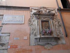 Rome in May - Via del Cappellari. http://romandespatches.blogspot.co.uk/2015/06/rome-in-may-via-dei-cappellari.html