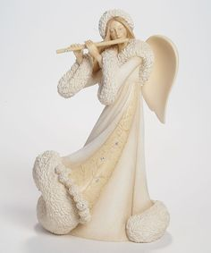 foundations christmas angel flute figurine - Christmas Angels For Sale
