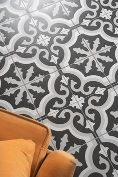 If you dream of creating your own charming vintage styled paradise, then these Kingsley Grey Tiles are the home addition you've been waiting for! They have an encaustic-look period styled pattern, which you can use to create a striking statement floor or feature wall in your bathroom, kitchen, hallway, bedroom or living room.