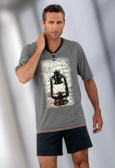 Men's Signature Stripe Pyjama Set | Mens Pajamas | Pinterest ...