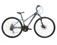 Mizani Zone DD 700C Sports Hybrid Bike, 21 Speed, Ladies