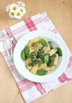 Rigatoni com brócolis