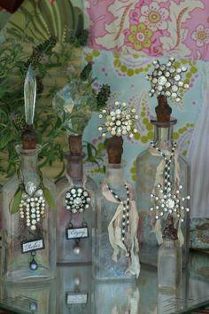 Jeweled Bottles