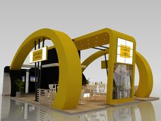 by carlos Exhibition Stall, Exhibition Booth Design, Stand Feria, Expo Stand, Trade Show Giveaways, Kiosk Design, Architect Design, Exhibitions, Interior Design