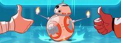Stephen Byrne hat eine wunderbare Fortsetzung von Das Erwachen der Macht gezeichnet, die Rey und ihre Freunde im Kampf gegen das ultimative Böse im Star Wars-Universum zeigt. Der Comic ist ein bisschen lang, daher gibts folgend nur zwei Seiten, die restlichen gibts nach dem Klick