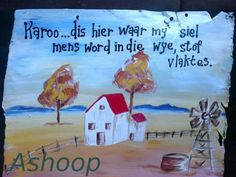 Ashoop Simple Quotes, Cute Quotes, Small Garden Features, Christian Greetings, Decoupage Printables, Afrikaanse Quotes, My Roots, Diy Garden Projects, Wedding Quotes