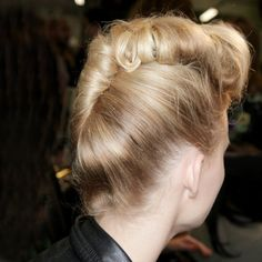 Step back into the Fifties with Paul Smith's retro updos for SS12
