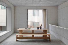 SCANDINAVIAN BEAUTY: DC01 FAYLAND  TABLE / DESIGN DAVID CHIPPERFIELD / BY E15 / YEAR 2015 | #designbest #magazine #interior #design #nordic |