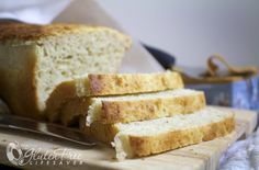 """I know what you're thinking: """"I miss proper bread!"""" Bread is the number one item on most coeliac's list of things they most miss. A soft, high-rising slice of sandwich bread… Best Gluten Free Sandwich Bread Recipe, Gluten Free Sandwiches, Sandwich Bread Recipes, Gluten Free Flour, Gluten Free Baking, Gluten Free Recipes, Healthy Recipes, Almond Recipes, Bread Baking"""