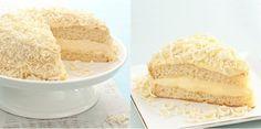 O Bolo Mousse de Chocolate Branco é delicioso! Você pode adaptá-lo para os bolos de pote ou fazê-lo para a sua família. De qualquer forma, todos irão pedir