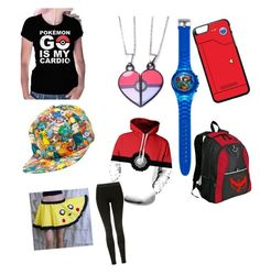 """""""Pokemon go!"""" by darianna-lascano on Polyvore featuring Bioworld, Valor and Topshop"""