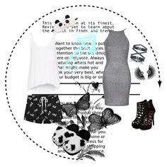 """""""//Party\\//Relax\\"""" by cutiepeace ❤ liked on Polyvore featuring MINKPINK, P.J. Salvage, rag & bone, Oh My Love, Eva Fehren, women's clothing, women's fashion, women, female and woman"""