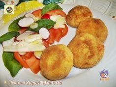 Polpette di verdure al forno con salsiccia