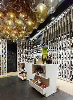 Wein & Wahrheit Store, Sulzbach, Germany by Ippolito Fleitz Group