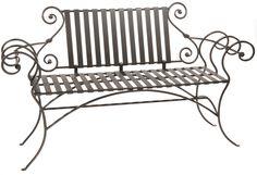 Waterbury Iron Bench 63 inch