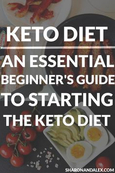 If you're just starting out on the keto diet or are considering trying keto, this guide walks you through the ketogenic diet from how it works to what you can eat. Find out the keto diet can help you lose weight and improve your life! High Fat Diet, Low Carb Diet, Paleo Diet, How To Keto Diet, Basics Of Keto Diet, Keto Diet Guide, Paleo Meals, Diet Meals, Diet Foods