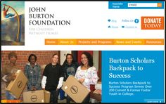John Burton Foundation - a great resources for adults in the education system who are helping children without homes!