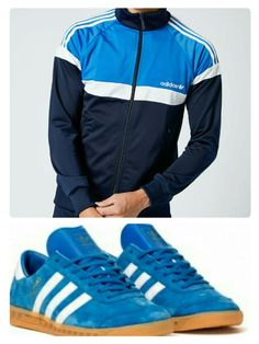 best loved 27afd 3dc04 adidas Itasca tracksuit top look kickin  with the Bluebird Hamburgs