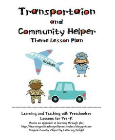 community helpers lesson plans and printable | Community Helpers ...