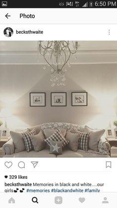 Decor, Living Room, Room, Interior, Gallery Wall, Wall, Home Decor, Interior Design, White