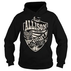 Its an ALLISON Thing (Eagle) - Last Name, Surname T-Shirt