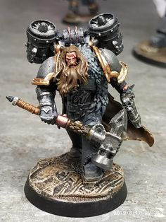 Warhammer Figures, Warhammer 40k Miniatures, Minis, Wolf Scouts, Warhammer 40k Space Wolves, Bolter And Chainsword, Chaos Lord, Rian Johnson, War Hammer