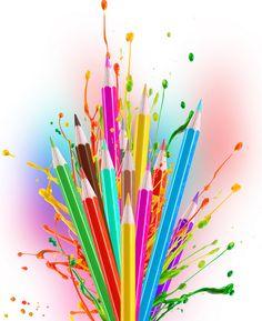 """Poème : """"Les crayons de couleur"""" - Le coin des lectures partagées"""