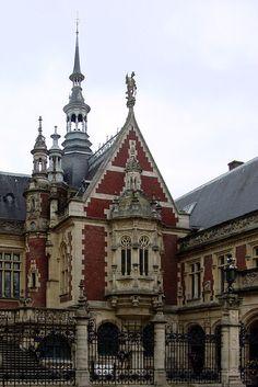 Palais de la Bénédictine, Fécamp, Haute-Normandie, France