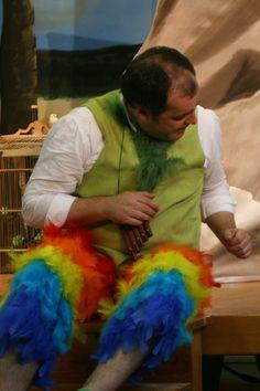 Kostüm Papageno, Oper Zauberflöte