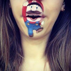 This Cartoon Character Lip Art By Lauren Jenkinson Is A Disney Fan's Dream Come True