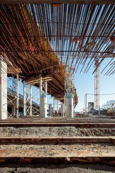 SOLID architecture ZT GmbH VOEST Donaubrücke A7 Bypassbrücken Linz Danube A7 Bridges Linz - Foto: Kurt Kuball