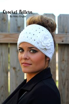 New Crochet Pattern: Boho Flower Headband