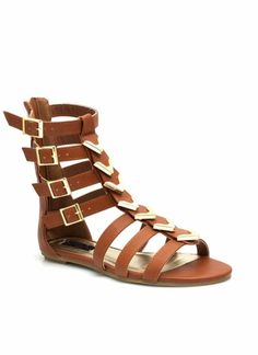 Spectacle Girl Gladiator Sandals