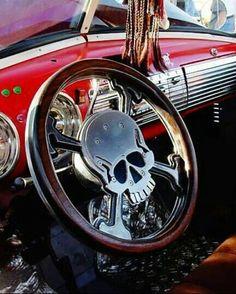 Skull Car Interior