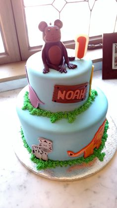 1st Birthday Cake by Bella Donna Special Events & Bakery