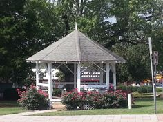 Cumming Bandstand in Forsyth County, Georgia.
