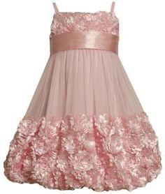 Bonnie Jean Girls 7-16 Mesh Bubble Skirt Dress