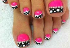 imagenes de uñas decoradas de los pies - Buscar con Google