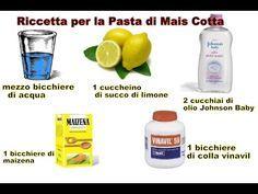 TUTORIAL:Ricetta Come preparare La Pasta di Mais/Corn Flour Dough (Cornstarch) Recipe - YouTube